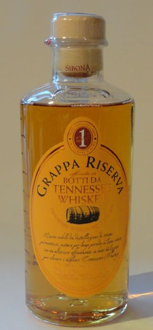 Grappa di Barbera Riserva Botti da Tennessee Whiskey - Sibona